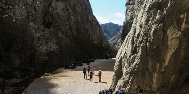 Canyon of Paklenica NP | Raftrek Adventure Travel Croatia