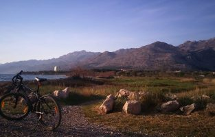 Cycling to the ancient fortress at Starigrad Paklenica