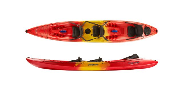 Triyak sea kayak sit-on-top-double | Raftrek Adventure Travel Shop