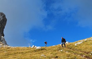Hiking to the top of Durmitor, Montenegrin most beautiful mountain | Raftrek Adventure Travel Croatia