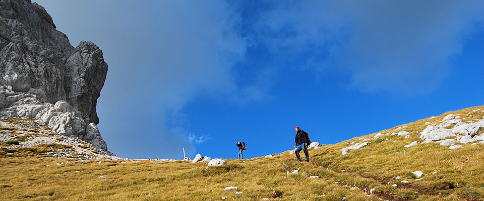 Hiking to the top of Durmitor, Montenegrin most beautiful mountain