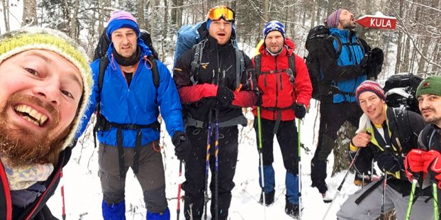 Winter hiking team | Raftrek Adventure Travel Blog