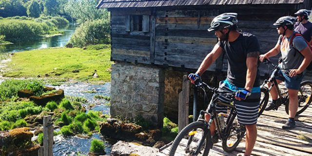 Gacka River cycling | Raftrek Adventure Travel Blog