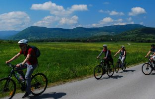 Biking-Baraceve-caves | Raftrek Adventure Travel Croatia