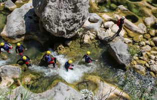 Canyoning-cetina-river-Croatia-Raftrek-travel (1 of 1)-3
