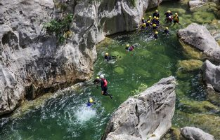 Canyoning-cetina-river-Croatia-Raftrek-travel (1 of 1)-4