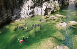 Canyoning-cetina-river-Croatia-Raftrek-travel (1 of 1)-5