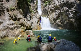 Canyoning-cetina-river | Raftrek Adventure Travel Croatia