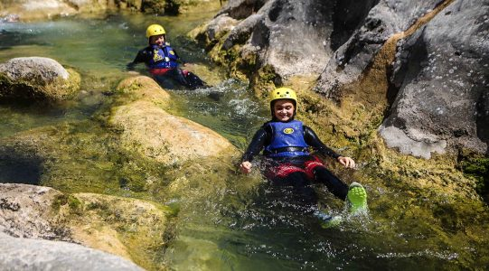Canyoning Cetina River | Raftrek travel