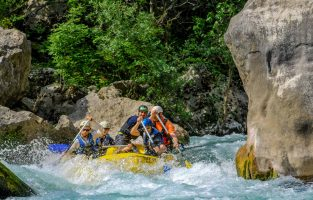 Dalmatia Weekend Adventure | Rafting Cetina River in Croatia | Raftrek Adventure Travel Croatia