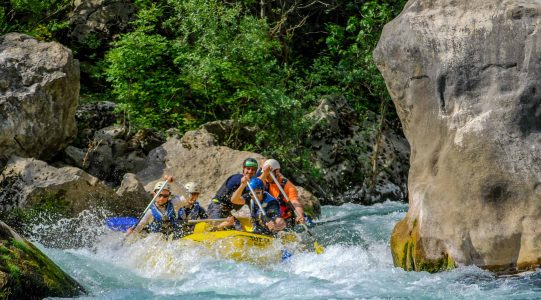 Cetina rafting | Raftrek travel