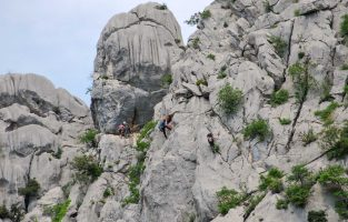 Climbing-Paklenica-national-park | Raftrek Adventure Travel Croatia