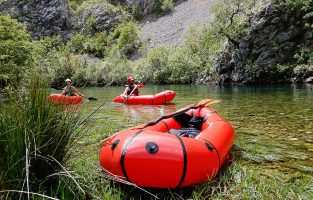 Packrafting Zrmanja River | Small Group | Raftrek Adventure travel