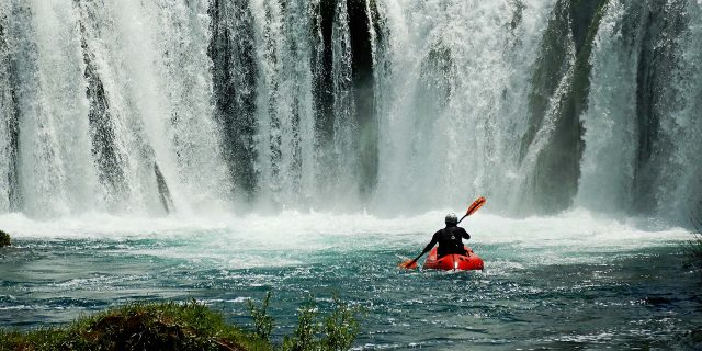 Packrafting Zrmanja River