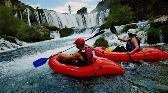 Zrmanja Packrafting | Raftrek travel