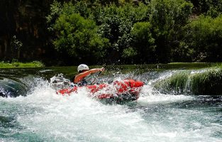 Packrafting Zrmanja River | Raftrek Travel