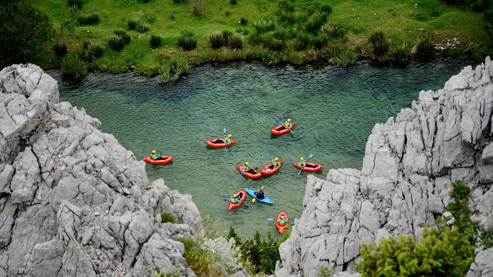 Zrmanja River Packrafting | Raftrek Adventure travel
