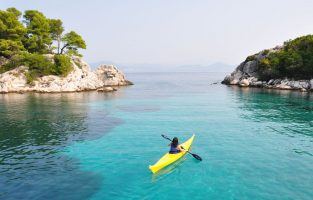 Four Countries Multisport | The Courage To Travel On Your Own | Sea Kayaking Zaton Bay | Raftrek travel
