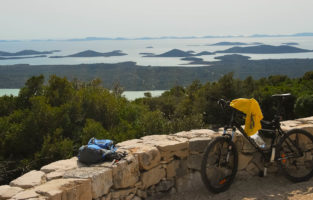 Cycling in Krka National Park
