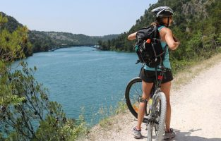 Cycling NP Krka River | Female solo travelers | Raftrek Adventure travel