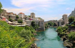 Four Countries Multisport | Mostar Town bridge | Raftrek travel
