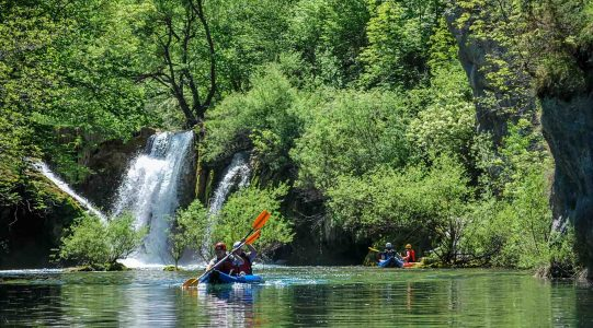 Mrežnica kayaking | Raftrek travel