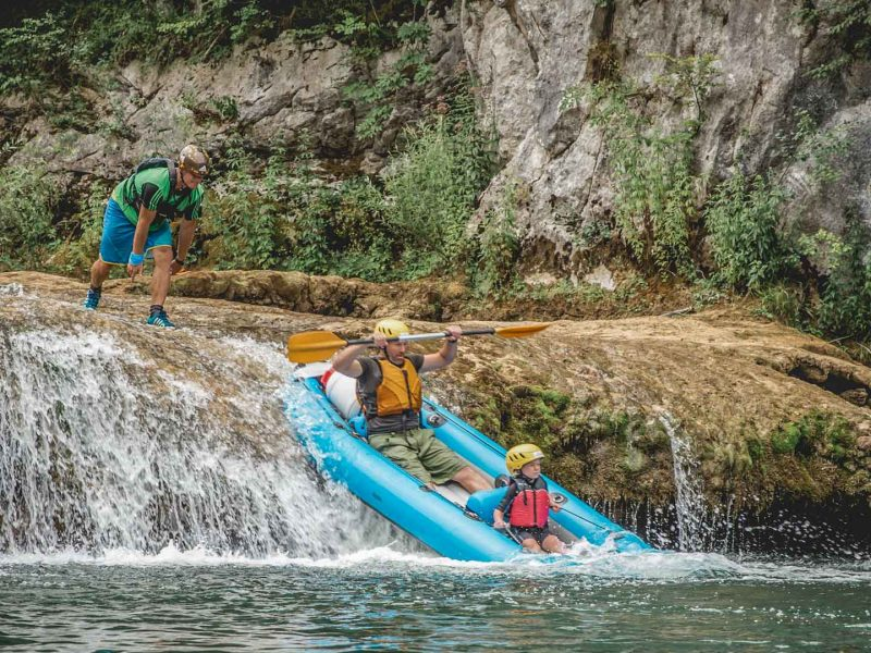 Mreznica river kayaking | Raftrek Adventure Travel Croatia