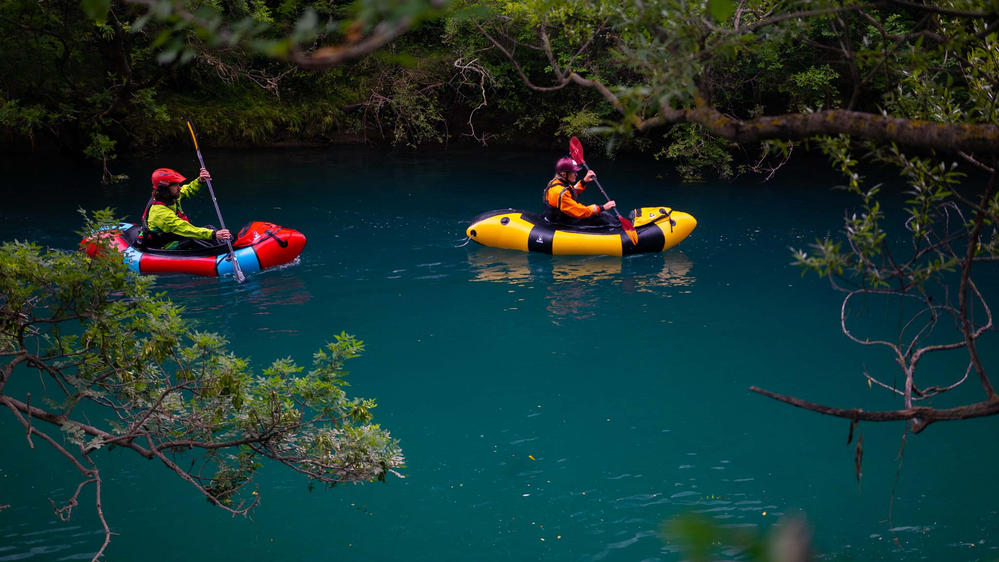 Packrafting Mreznica RIver Adventure | Raftrek Adventure Travel