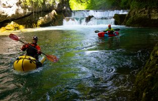 Packrafting Croatia Adventure | Mreznica River | Raftrek Adventure Travel