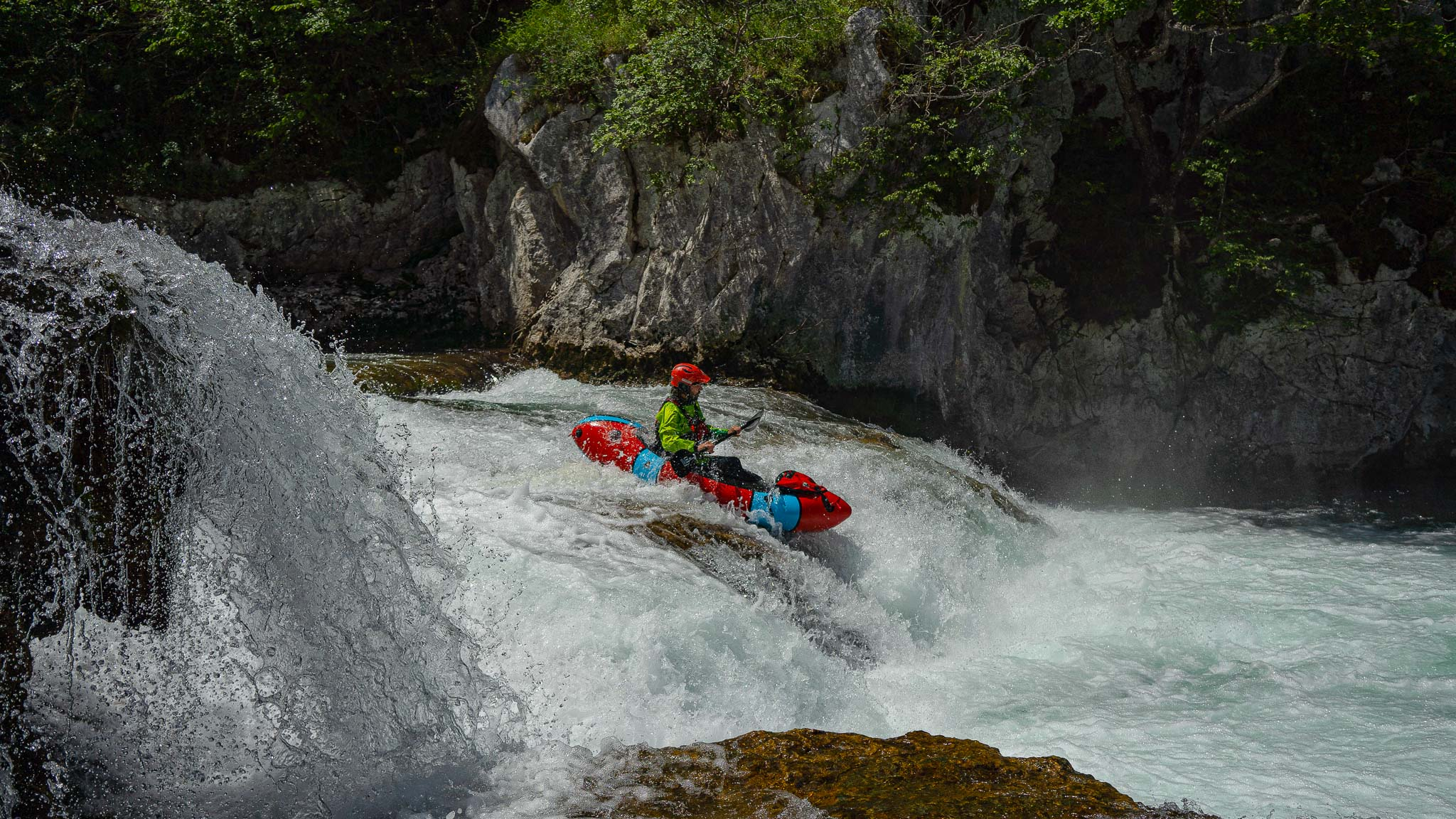 Packrafting Mreznica River Upper part | Raftrek Adventure Travel