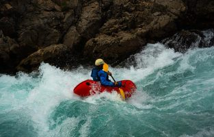 Packrafting Zrmanja RIver Adventure | Raftrek Adventure Travel