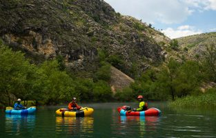 Packrafting in Croatia | Zrmanja River | Raftrek Adventure Travel