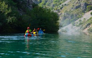 Packrafting Croatia Adventure | Raftrek Adventure Travel