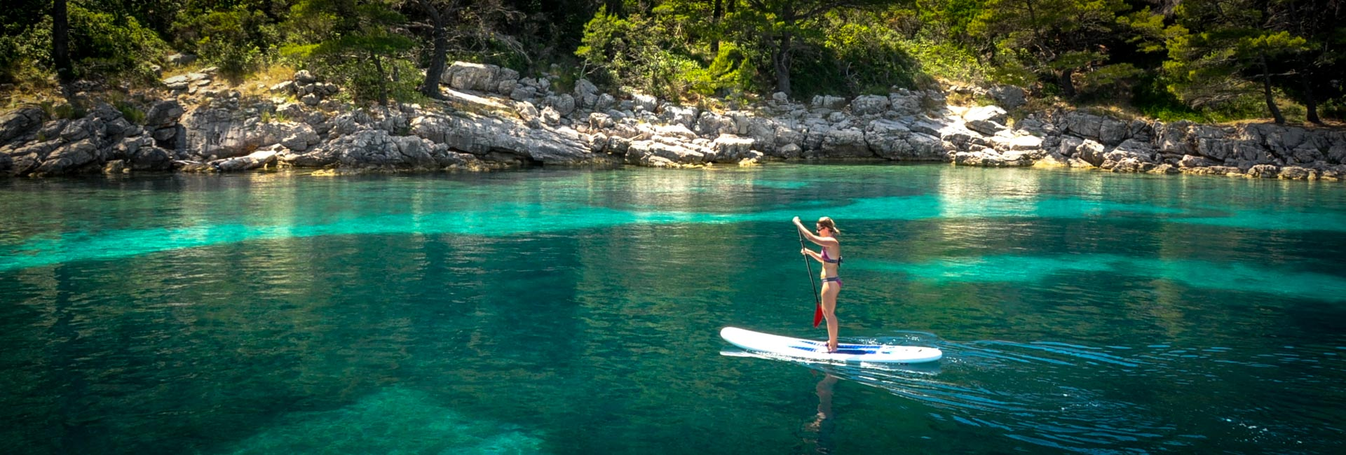 Stand up Paddling in Croatia