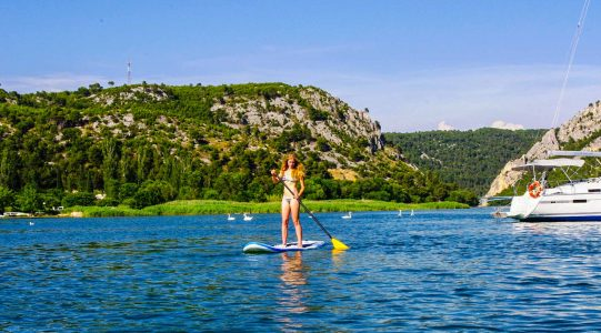 SUP Croatia Skradin Bay | Raftrek travel