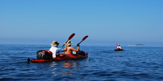 Sea Kayaking Zlarin Island
