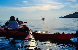 Croatia Sea kayaking adventure trip
