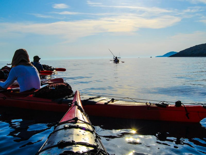 Croatia Sea kayaking adventure trip | Raftrek Adventure Travel Croatia