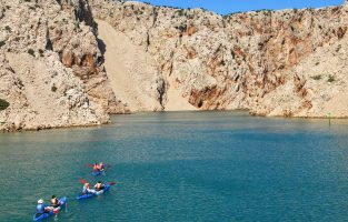 Sea-kayaking-Novigrad-bay | Raftrek Adventure Travel Croatia