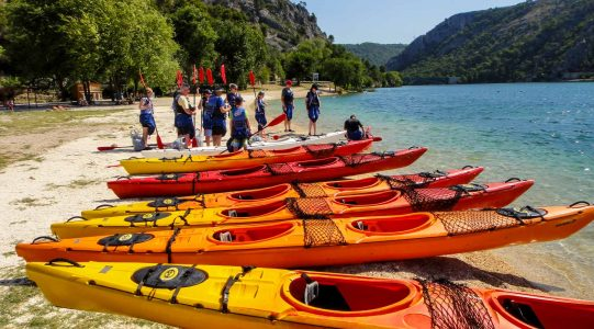 Skradin Bay Sea Kayaking | Raftrek travel