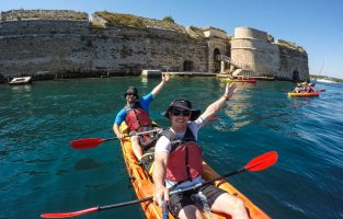 Dalmatia Weekend Adventure | Sea-kayaking-Zlarin-island | Raftrek Adventure Travel Croatia