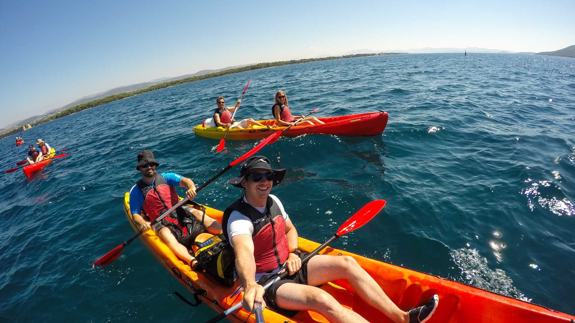 Sea Kayaking Zlarin Island Croatia Raftrek Travel 1 Of