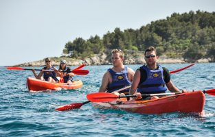 Sea Kayaking Zlarin Island-Raftrek Adventure Travel