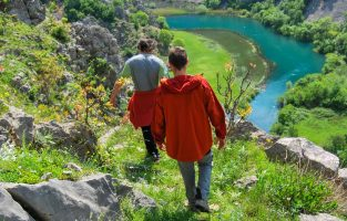 Trekking Krupa Canyon | Raftrek Adventure Travel Croatia