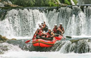 Rafting Una River | Raftrek Adventure Travel Croatia