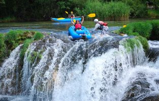 Dalmatia Weekend Adventure | Zrmanja-Canoe-safari-Croatia-Raftrek-travel