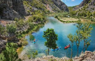 Zrmanja-river-kayaking | Raftrek Adventure Travel Croatia