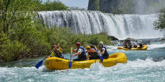 Rafting Zrmanja River in Croatia