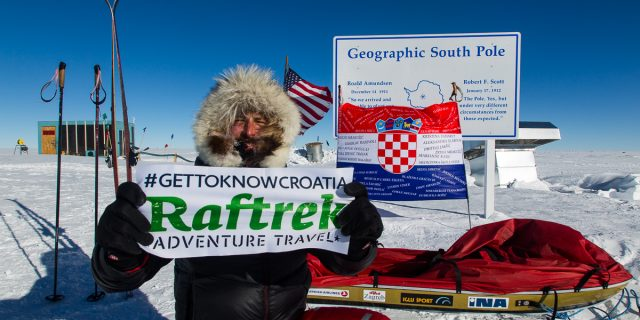 Davor Rostuhar and Raftrek Adventure travel in Croatia on South Pole