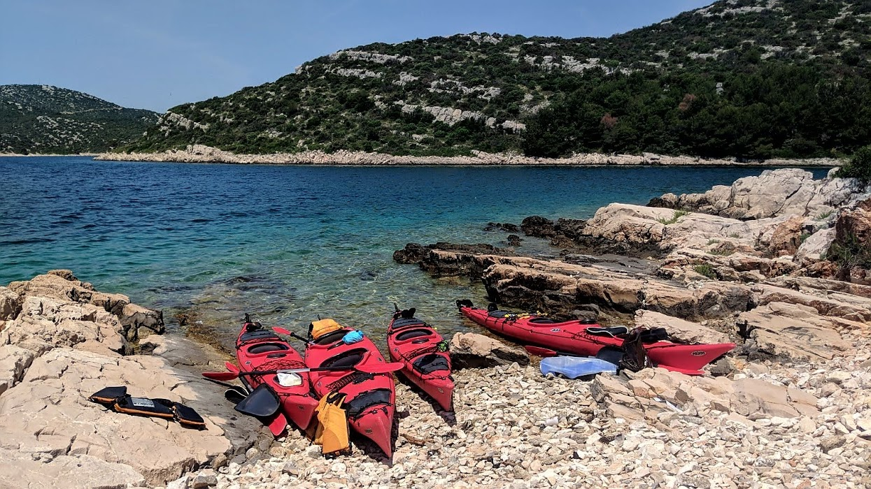 Sailing and Sea Kayaking NP Kornati Island